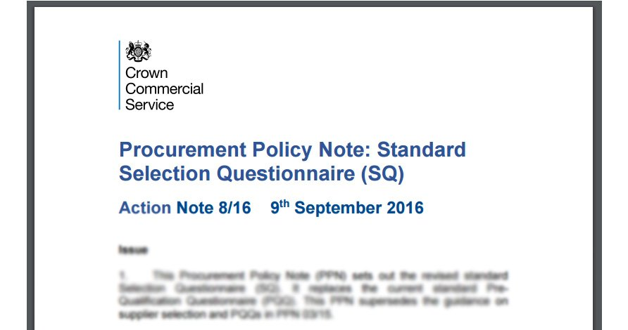 Procurement Policy SQ