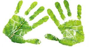 Going Green Handprint